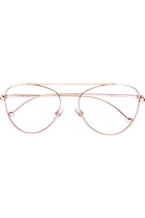Fendi Sunglasses - Round frame glasses