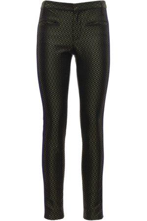 Haider Ackermann Jacquard Silk Skinny Pants