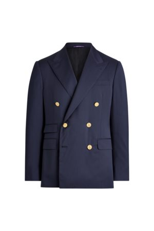 Purple Label Gregory Wool Serge Blazer