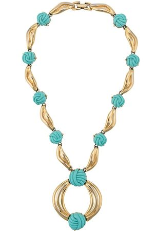 Lanvin 1970s knot detailed necklace