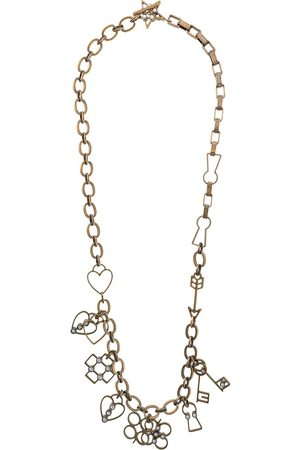 Lanvin Cable chain charms necklace