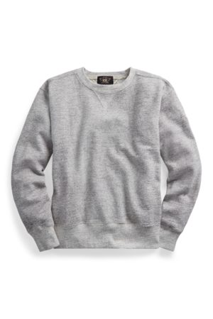 RRL Fleece Crewneck Sweatshirt