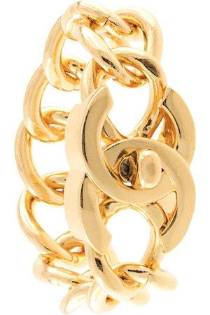 Chanel Pre-Owned Women Bracelets - CC Turnlock Motif Chain Bracelet
