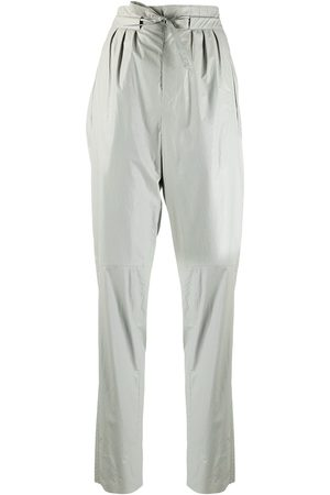 Isabel Marant Tie-fastening high-waist trousers