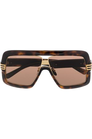 Gucci Oversize-frame tinted sunglasses