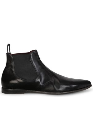 Dolce & Gabbana Slip-on calf leather boots