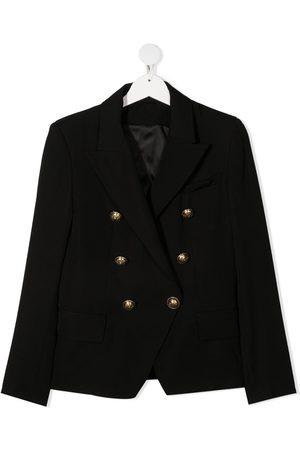 Balmain TEEN double-breasted blazer