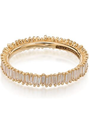Suzanne Kalan Women Rings - 18kt Fireworks Eternity diamond ring