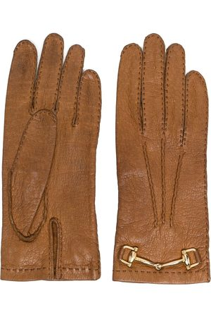Céline 1970s pre-owned horsebit-detail gloves