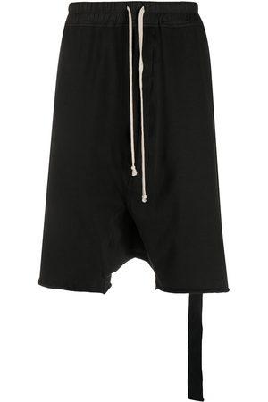 Rick Owens Drawstring dropped crotch shorts