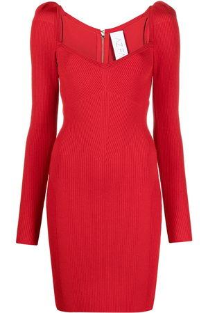 AZ FACTORY MyBody puff-shoulder dress