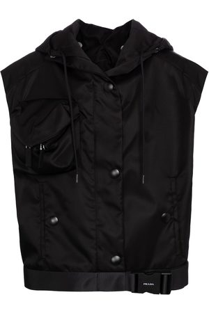 Prada Re-nylon gabardine vest