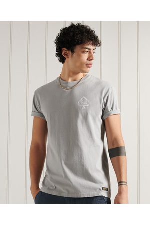 Superdry Men Short Sleeve - Military Non Branded Graphic T-Shirt