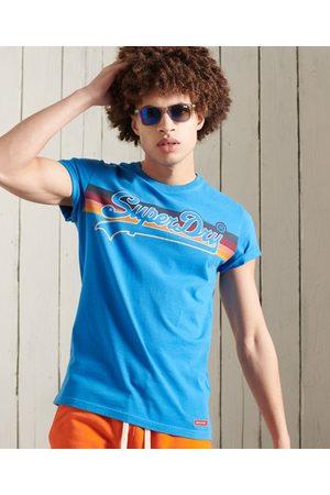 Superdry Men Short Sleeve - Vintage Logo Cali Stripe T-Shirt