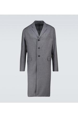 Prada Single-breasted wool coat