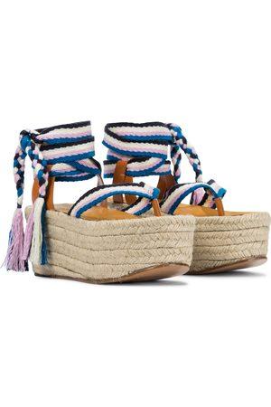 Isabel Marant Mezzee platform espadrille sandals