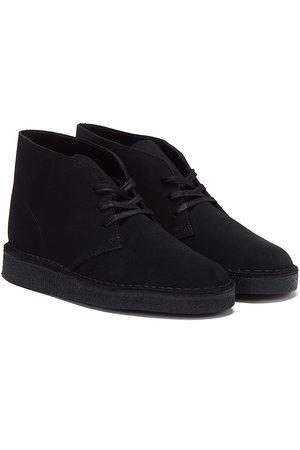 Clarks Desert Coal Suede Mens Boots