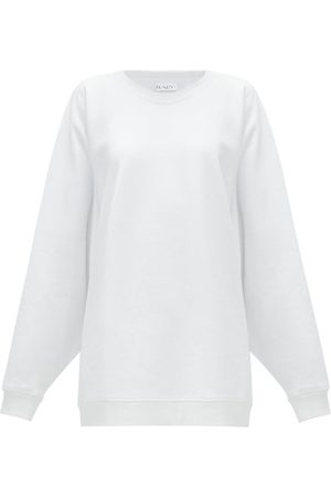 Raey Organic And Recycled-yarn Cotton-blend Sweatshirt - Womens