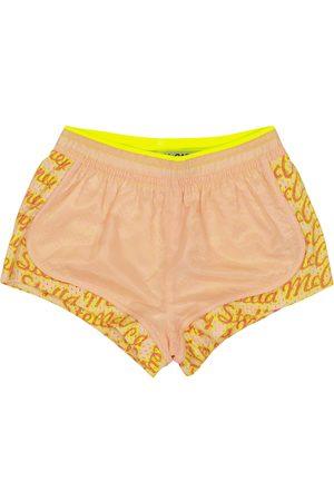 Stella McCartney Girls Shorts - Logo sports shorts