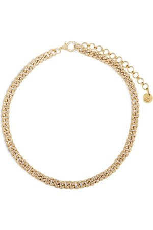 Shay Gold and Diamond Link Choker Necklace