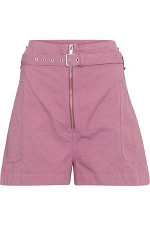 Isabel Marant, Étoile Parana cotton and linen Bermuda shorts