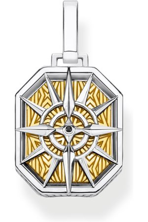 Thomas Sabo Necklaces - Pendant compass gold multicoloured PE867-849-7