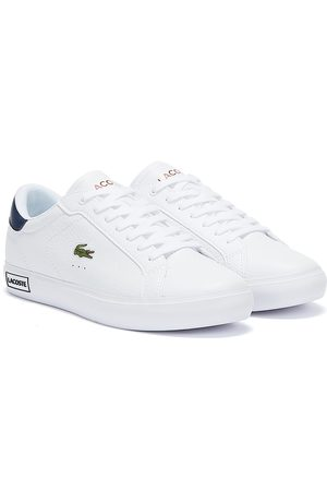 Lacoste Powercourt 721 2 Mens / Navy / Red Trainers