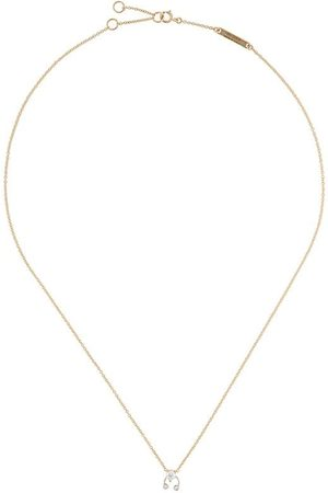 DELFINA DELETTREZ Women Necklaces - 18kt yellow and white Two In One diamond necklace