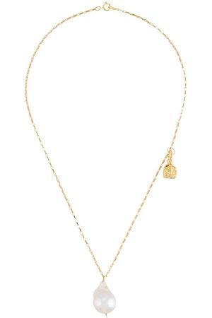 Alighieri Women Necklaces - Anchor and baroque necklace