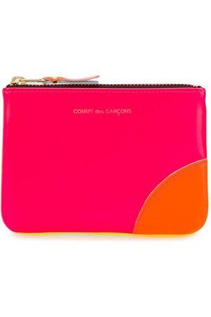 Comme Des Garçons Wallet Colour-block zipped wallet