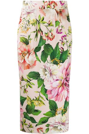 Dolce & Gabbana Women Pencil Skirts - Floral pencil skirt