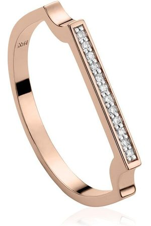 Monica Vinader Women Rings - Signature Thin Diamond ring