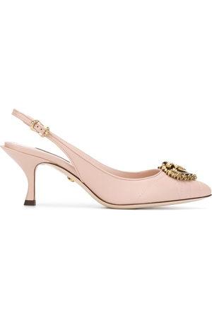 Dolce & Gabbana Women Heels - Devotion slingback pumps