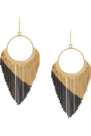 Iosselliani Women Earrings - Black Hole Sun earrings