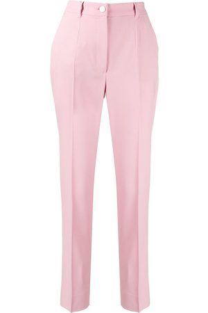 Dolce & Gabbana Women Trousers - Contrast piped trousers