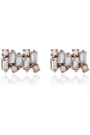 Suzanne Kalan Women Earrings - Firework Diamond Earrings