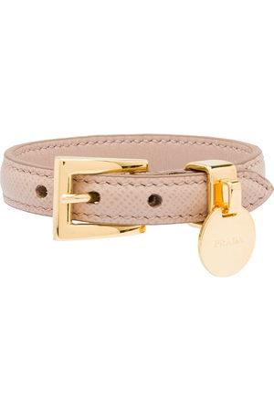 Prada Women Bracelets - Saffiano Leather Bracelet