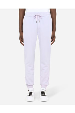 Dolce & Gabbana Men Trousers - Trousers and Shorts - JERSEY JOGGING PANTS WITH BRANDED TAG male 44