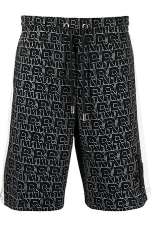 John Richmond Logo-print track shorts