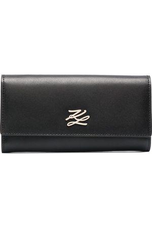 Karl Lagerfeld K/Autograph continental flap wallet