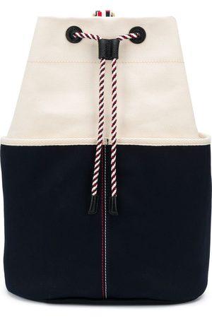 Thom Browne Double-face canvas sailor bag