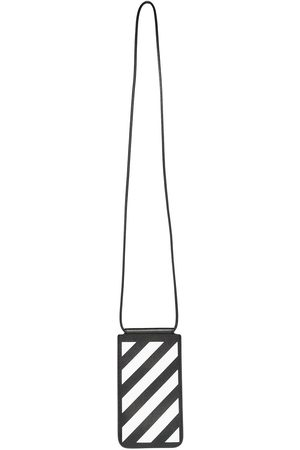 OFF-WHITE Men Purses & Wallets - Diag stripe phone pouch