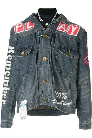 Maison Mihara Yasuhiro Printed denim jacket