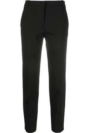 Pinko Slim fit cropped tailored trousers