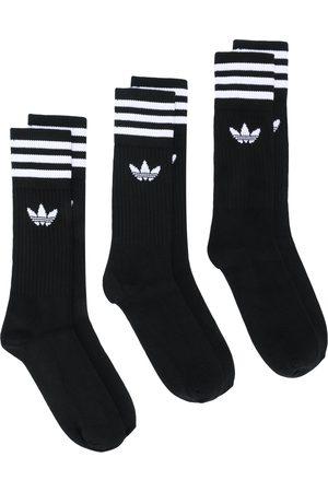 adidas 3 pack Solid crew socks