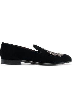 Dolce & Gabbana Leonardo embroidered slippers