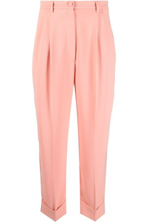 HEBE STUDIO Pleated tailored trousers