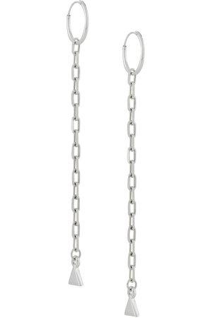 Coup De Coeur Chain hoop earrings