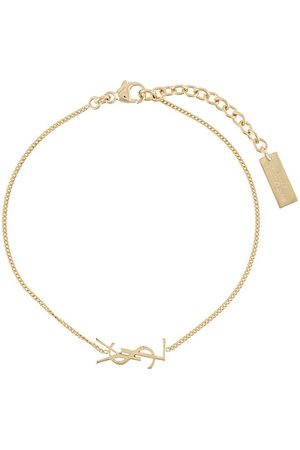 Saint Laurent Women Bracelets - Interlocking monogram bracelet
