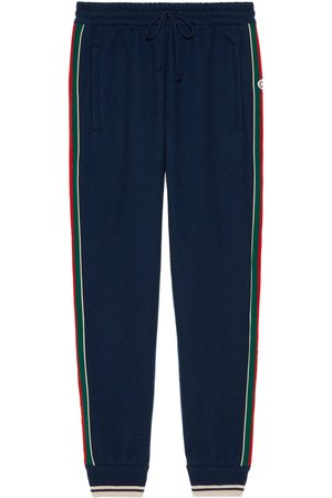 Gucci Men Trousers - Cashmere jogging bottoms